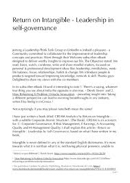 100 Whatever You Think Think The Opposite Ebook Return On Intangible Leadership Towards Selfgovernance