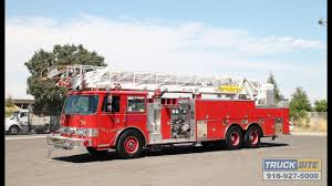 100 Pierce Fire Trucks For Sale 1991 Arrow 105 Quint Truck For Sale By Truck Site YouTube