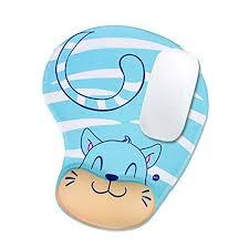 animaux tapis de souris memory foam wrist avec repose poignet en