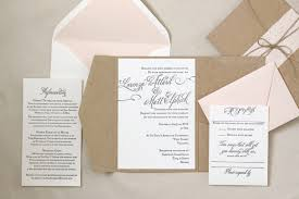 Gorgeous Invitation Suite Wedding Rosebud Rustic Letterpress Printed Invitations