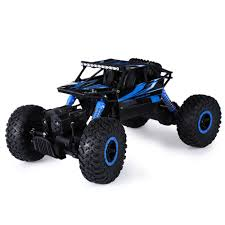 Hot Sale RC Car 2.4Ghz 4WD 1/18 4 Wheel Drive Rock Crawler Rally Car 4x4  Double Motors Bigfoot Car Off Road Vehicle Toys -in RC Cars From Toys & ...