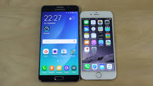 Samsung Galaxy Note 5 vs iPhone 6 Which Is Faster