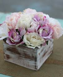 Shabby Chic Rustic Flower Bouquet Wedding Centerpiece Arrangement Photo Proofs Posted By Morgann Hill