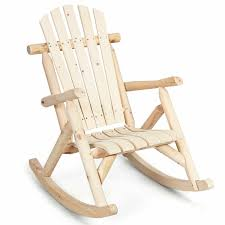 Log Rocking Chair Wood Single Porch Rocker Lounge Patio Deck Furniture  Natural Black Palm Harbor Wicker Rocking Chair Abasi Porch Rocker Unfinished Voyageur Twoperson Adirondack Appalachian Style Chairs Havenside Home Del Mar Acacia Wood And Side Table Set Natural Outdoor Log Lounge Companion For Garden Balcony Patio Backyard Tortuga Jakarta Teak Palmyra Gliders Youll Love In Surfside Unfinished Childrens Rocking Chair Malibuhomesco Caan