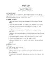 Hostess Resume Skills From Waiter Sample Waitress Examples Job Objective