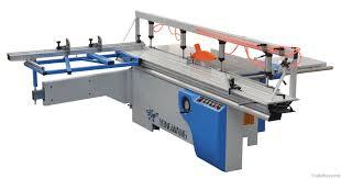 mj6130tz wood cutting machine sliding table panel saw digital show