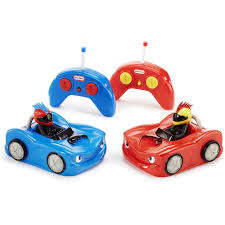 Little Tikes Remote Controlled RC Toy Bumper Cars Race Set For Kids ...