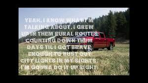 100 Pickup Truck Lyrics Drivin Aroung Song Colt Ford Ft Jason Aldean Lyrics YouTube