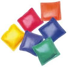 Small Bean Bags Clipart