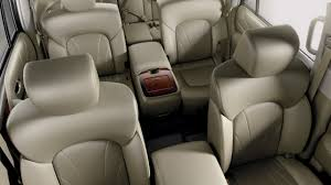 Luxury Suv With Second Row Captain Chairs by 2017 Infiniti Qx80 Design Infiniti Usa