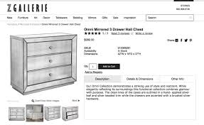 Z Gallerie Concerto Dresser by Diy Mirrored Nighstands Zgallerie Inspired Ljdecor