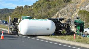 100 Truck Rollover A Truck Has Rolled At Round Hill Near Burnie The Advocate