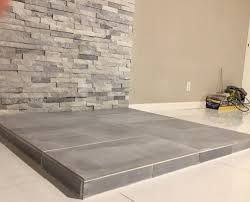 Certainteed Ceiling Tiles Cashmere by Here Is The Little Woodstove Sitting On The Pebbled Surface