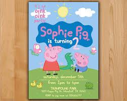 Peppa Pig Pumpkin Carving by Peppa Pig Invitation Peppa Pig Birthday Invitation Peppa