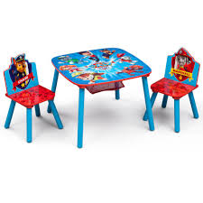 Delta Children Nick Jr. PAW Patrol 3-Piece Multi-Color Table And ... Baby River Ridge Kids Play Table With 2 Chairs And 3 Plastic Comely Chairs Rental Decoration Ba Regardingkids Kitchen Toddler Fniture Table And N Chair For Large Cheap Small Personalized Wooden Set Wood Nature Perfect Toddlers Homesfeed Inspiration About Design Ltt Childrens Whitepine Ikea Kids Chair Sets Marceladickcom Toys Kid Stock Photo Image Of Cube Eaging Year Adults White Play Ding Style