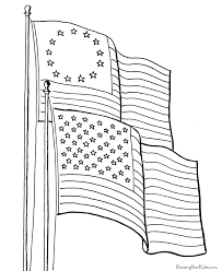 Flag Day Coloring Pages FREE