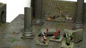 3d Printed Dungeon Tiles by Rome Wasn U0027t Built In A Day U2013 3 D Dungeon Tiles Dagger And Brush
