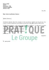 lettre de notification d absence au bureau pratique fr