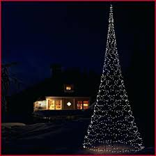 Outdoor Spiral Christmas Trees Tree Decoration Led Multi Colour Rope