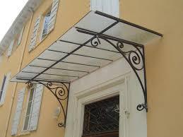 auvent de porte brico depot etude et fabrication marquise auvent marquise porte d entrée
