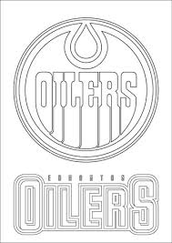 Click To See Printable Version Of Edmonton Oilers Logo Coloring Page