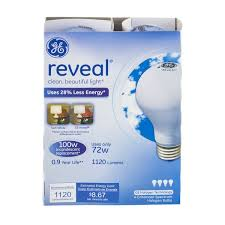 ge reveal 100w incandescent bulb 2 ct 2 0 ct from kroger
