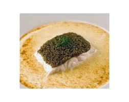 cuisiner le bar de ligne bar de ligne dos bleu tartine au caviar crême fleurette gratinée