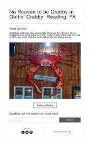No Reason To Be Crabby At Gettin' Crabby: Reading, PA | Jonna ... May 2015 Littheland En453 250 Skyline Dr Reading Pa 19606 Mls 7034400 Redfin 2883 Pricetown Rd Temple 19560 6962208 Back To The Bull On Barn Bayshore Crab House In Newport Nj 2002 Reservoir 19604 6942139 1035 Saylor 6878017 3003 Buck Run 7038304 Cakes With Fried Plantains Yelp 29 Wanner 6934574 144 6978274 2439 Elizabeth Ave 69431