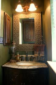 Tuscan Style Bathroom Decor by 56 Best Half Bath Images On Pinterest Bathroom Ideas Tuscan