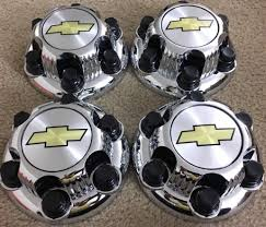 100 Chevy Truck Center Caps Amazoncom REPLACEMENT PART Set Of 4 Chrome Silverado 6 Lug