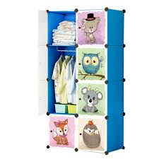 Melissa Doug Wooden Doll Armoire With Hanging Rod Hangers FREE