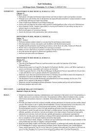 Registered Nurse Medical Surgical Resume Samples | Velvet Jobs Registered Nurse Resume Objective Statement Examples Resume Sample Hudsonhsme Rn Clinical Director Sample Writing Guide 12 Samples Nursing Templates Of Bad 30 Written By Cvicu Intensive Care Unit For Nurses Attheendofslavery 10 Gistered Nurse Examples Australia Mla Format Monstercom