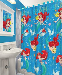 Little Mermaid Bathroom Accessories Uk by Shower Curtains U0026 Liners