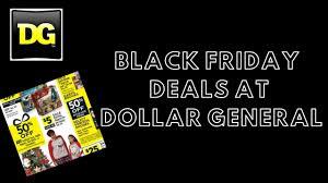 Dollar General Black Friday Deals 2019