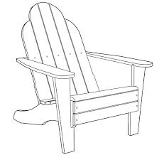 100 free adirondack chair template building a child u0027s