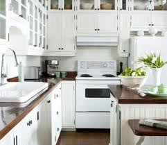 Updated Kitchen With White Appliances