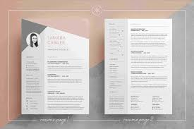 5 Cv Resume Indesign Templates Download