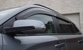 100 Window Visors For Trucks Hyundai Kona 2018Up MFit Side