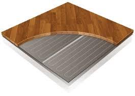 underfloor heating for wood and laminate floors