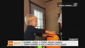 Jimmy Fallon I Ate Your Halloween Candy by Kids Melt Down In Classic Kimmel Prank Cnn