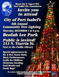 6th Annual Community Christmas Tree Lighting Ceremony 12 5 6p
