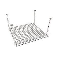 Hyloft Ceiling Storage Unit 30 Cubic Feet by Hyloft 60x45 Inch Heavy Duty Ceiling Mount Shelf White Finish