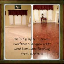 Sams Club Laminate Flooring Cherry by This Is My Living Room Before U0026 After From Carpet To My New
