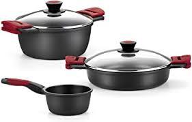 bra premiere kochtopf set modern 3 geeignet für alle arten küchen auch induktion