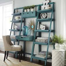 Crate And Barrel Leaning Desk White by Morgan Desk Smoke Blue Pier 1 Imports Office Pinterest