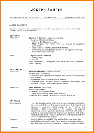 Sample Resume Accounts Assistant Singapore New Accounting Clerk Samples Canada Staff Accountant