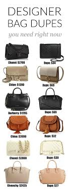 The Ultimate Designer Bag Dupe Guide | Dupes, Designer Bags And ... Designer Handbags At Neiman Marcus Turn Into Cash In My Bag From Lkbennett Ldon Womens Faux Leather Handbag New Ladies Shoulder Bags Tote Handbags Shoes And Accsories Envy Gucci Bag In Champagne Champagne Sell Used Online Stiiasta Decoration Best 25 Brand Name Purses Ideas On Pinterest Name Brand Buy Consign Luxury Items Yoogis Closet Hammitt Preowned Fashion Vintage Ebay