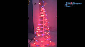 Lighted Spiral Christmas Tree Outdoor by 5 Ft Flashing 3d Spiral Christmas Tree Light Silhouette