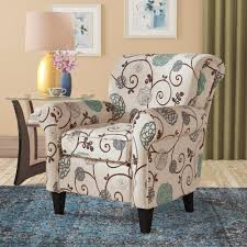 Floral Accent Chairs You'll Love In 2019 | Wayfair Decorating Lovely Chaise Lounge Slipcover For More Living Room Oversized Round Chair Relaxing In Front Of Wondrous Red Indoor Victorian Style Farmhouse Accent Chairs Birch Lane Vintage Carved Swan Barrel Back And Tufted Dollhouse Fniture Boudoir Upholstered In Floral Print Sateen 1930s Or 1940s 1 Scale France Son Lighting Home Decor Small Blue Floral Chaiselongue Antique Rushseated Elegant White Leather With Bellas Gone This Cottage Chic Chaise Lounge Is Upholstered A Durable