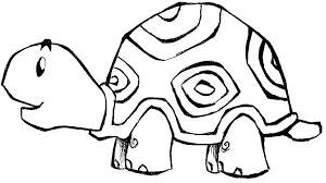 Turtle Coloring Pages For Parking Sea Sheet Small Colouring Print Books Design Simple Color Ideas Black